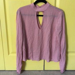Pink blouse (La Hearts)